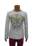 Wholesale Ex Chainstore Girls Zara Long  Sleeve T-Shirt Top